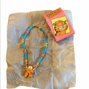 Garfield NWT Avon Necklace Vintage